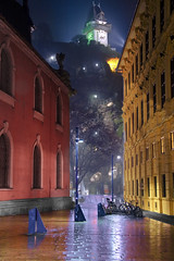 Graz (Michael Dawes) Tags: weather photoshop austria europe snowy country nightshots graz towns graysky europetrip cs4 topshots abigfave diamondclassphotographer flickrdiamond mytopshots photoshopcs4 damniwishidtakenthat