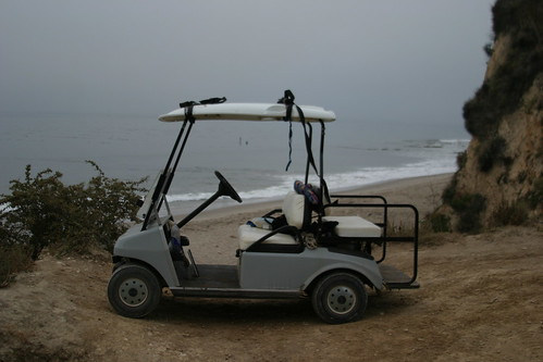 Parking at the beach