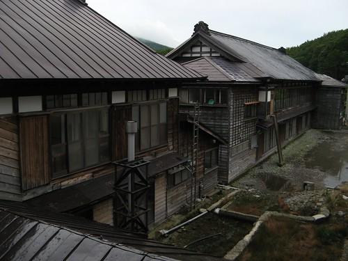 Sukayu Onsen buildings
