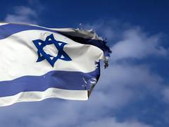 Blue as the sky (FX-1988) Tags: blue sky israel wind flag patriotism waving