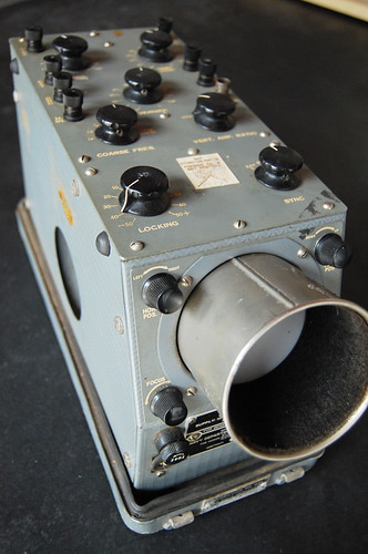 US Navy Oscilloscope