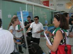 olbia sit-in aeroporto (cisl fp sardegna) Tags: sardegna fp volantinaggio cisl