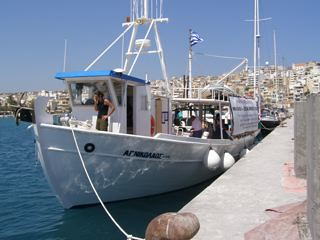 Liberty before leaving final port in Crete von freegazaorg.