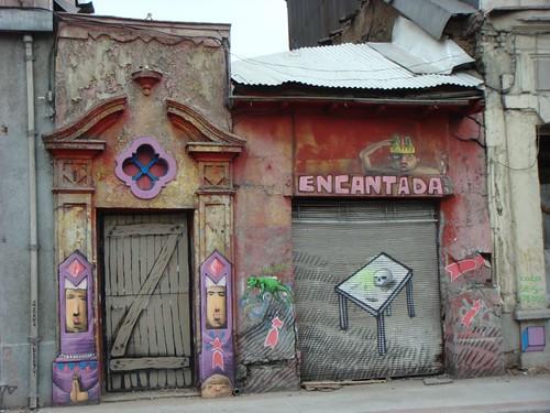 Santiago grafitti.