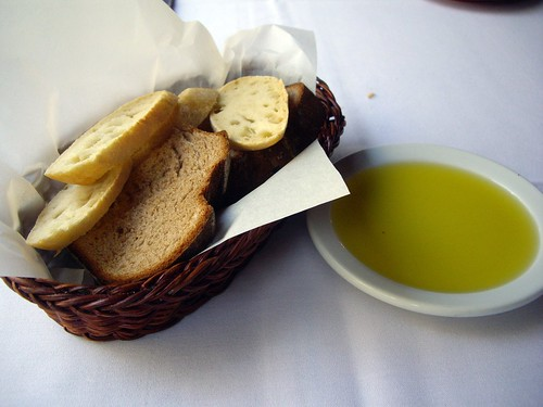 Bread Basket and Olive Oil