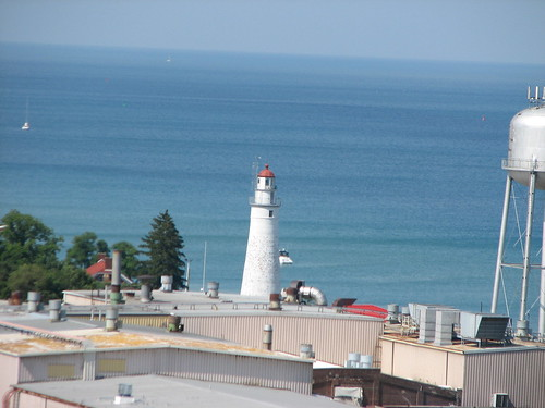 Lighthouse in Port Huron, MI