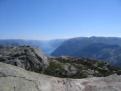 they say norwegian weather's bad? (curls q) Tags: norway preikestolen