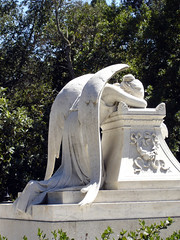 Angel of Grief (1901) K (pjink11) Tags: sculpture stone cantor sony cybershot angels stanford marble 2008 1908 dscw1