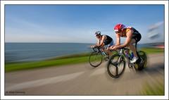 World championships 2008 Triathlon Almere - Bikes (Alex Verweij) Tags: holland bikes wk 2008 triathlon fietsen flevoland almere gooimeer wielrennen cs3 competitie mywinners aplusphoto canon40d alexverweij topqualityimagesonly worldchampionships2008triathlonalmere