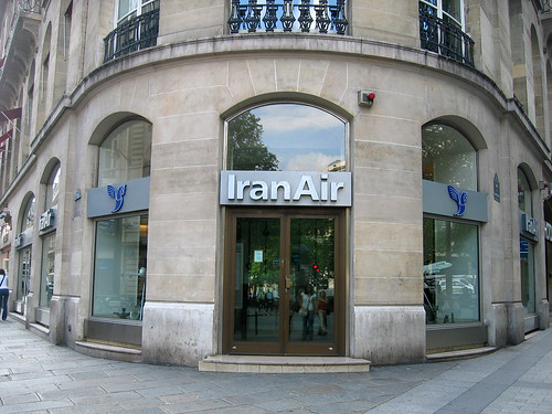Iran Air at the Champs-Élysées