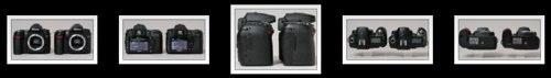 Nikon D80 vs Nikon D90 side by side