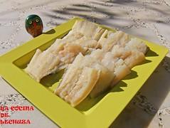 Bacalao con cigalas-bacalao crudo