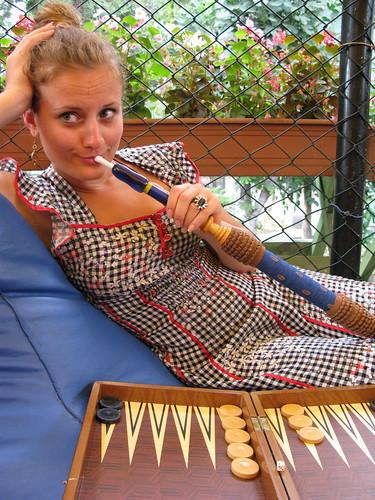 backgammon hookah istanbul