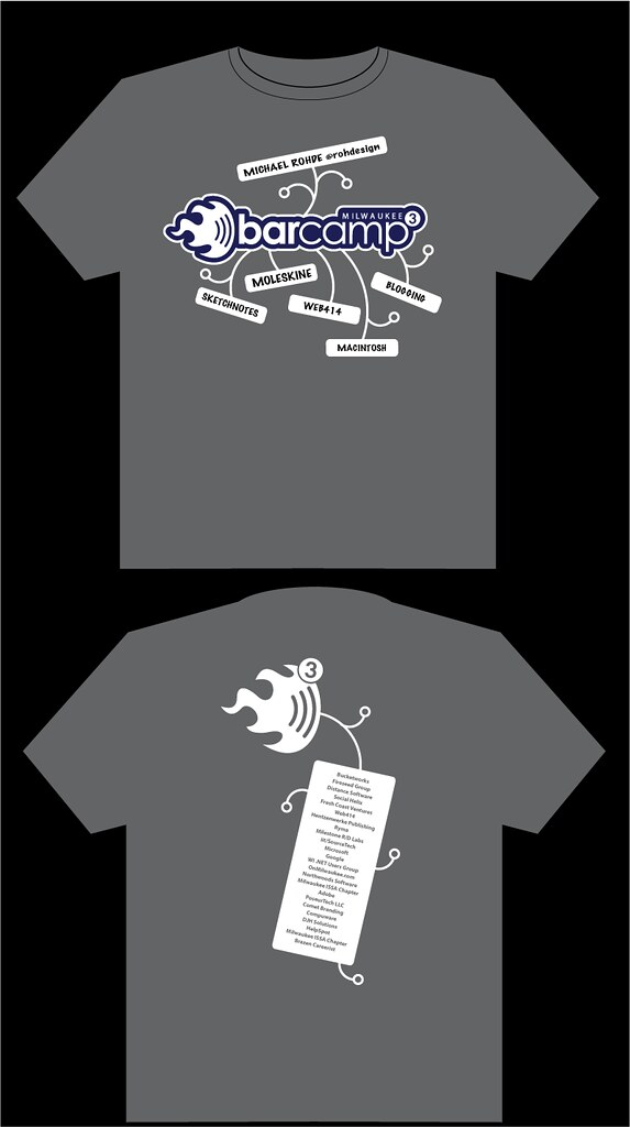 BCMKE3 T-Shirt Design v1.1 (Navy Blue)