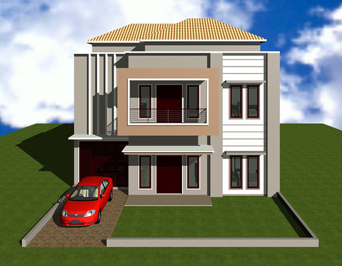 model teras rumah minimalis modern desain gambar teras
