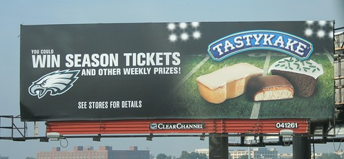 BILLBOARD - Tastykake Win Seasons Tickets
