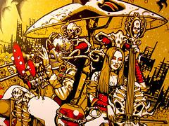 Subhumans Gig Print Sutfin - (Detail)