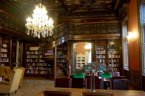 Philosophical Reading Room of the Szabo Ervin Library