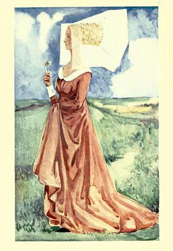 11- Vestimenta mujer epoca Ricardo III (1483-1485)