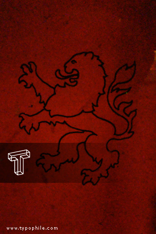 Typophile iPhone Wallpapers: Dutch Lion