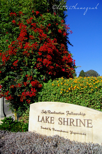 Lake Shrine Entrance