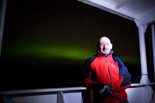 Journalist Quentin Cooper is onboard reporting the effects of global warming in the Arctic