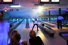 Lovin' glow bowling