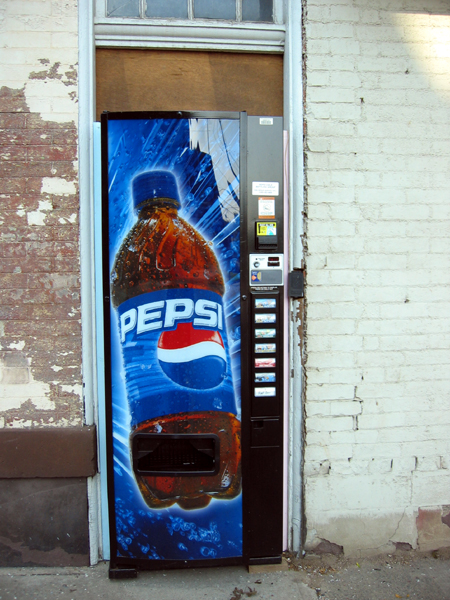 Soda Machine (Click to enlarge)