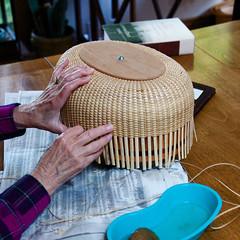 Making a Nantucket basket