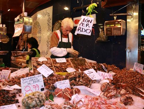 Fishmongers - Boqueria, Barcelona