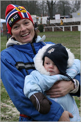 Lena B. Hillestad with Baby