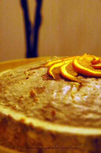 Torta alla spremuta di arancia