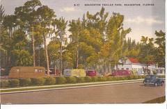 Bradenton Trailer Park (gtykal) Tags: travel camping vintage trailer airstream spartan