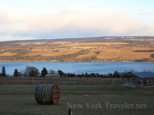 Glenora Winery and Seneca Lake