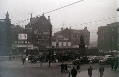 Fitzalan Square, Sheffield, 15 November 1959 (allhails) Tags: sheffield yorkshire classiccinema fitzalansquare ek33 cartooncinema
