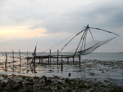 Chinese fishing platform