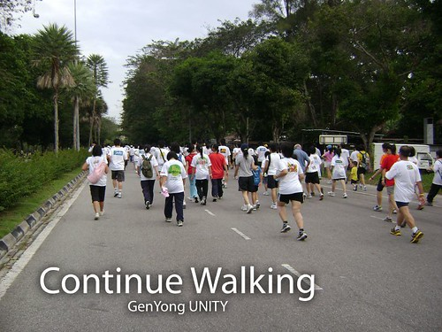 Continue Walking