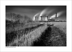 Fiddlers Ferry Power Station (Ian Bramham) Tags: longexposure bw industry station photo nikon energy power explore powerstation merseyside widnes ndfilter fiddlersferry d40 ianbramham