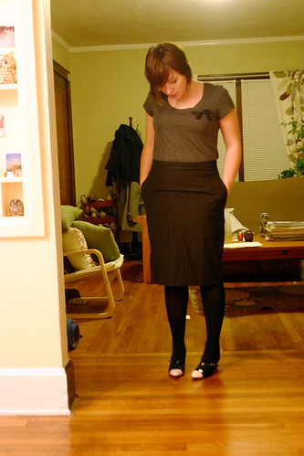 """Possible """"going out"""" outfit."""