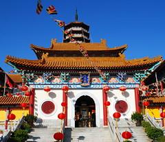 western monastery 西方寺 (rachelkwong) Tags: temple hongkong nikon buddhism monastery ih tsuenwan hongkongphotos d80 goldenmix 西方寺