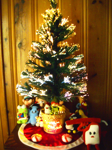 Our Christmas tree! I love it.