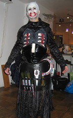 The Dentist Is In. (Rooztography) Tags: costume dentist 2008 pinhead hallowee hellraiser cenobite chatterer