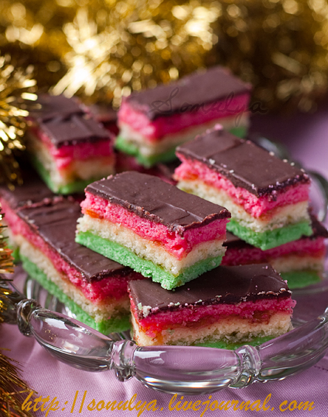 Six-Layer Cookies