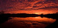 Marsh Creek Lake Sunrise Pano (No_clever_names_left (Michael Lawrence)) Tags: sunrise pennsylvania pano wintersky chestercounty downingtown canonef2470mmf28l marshcreeklake canoneos40d thanksbigguy marshcreeklakestatepark