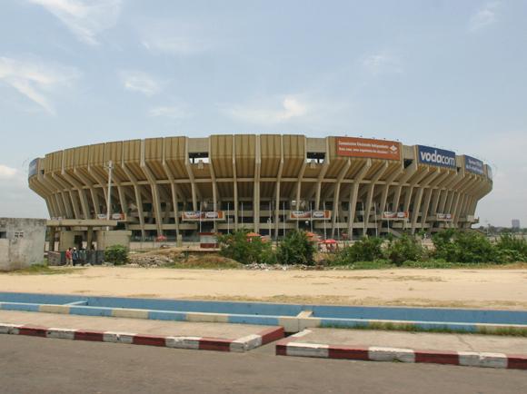 Le stade des martyrs de la pentecôte à Kinshasa