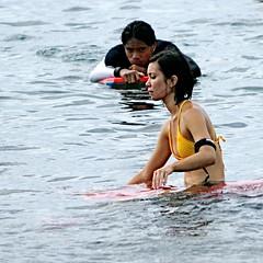 stalker (Mark Ramelb Photography) Tags: girl surf bikini bodyboard wahine