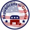 Republicans for Obama logo