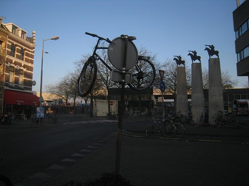 The elevated status of bicycles in Holland