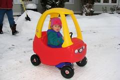 Beep? (hangry) Tags: christmas snow 2008 allee