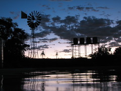 Life Giving Water (biancapreusker) Tags: africa light sunset reflection water windmill namibia canonpowershots2 golddragon platinumphoto pfogold thechallengefactory nomtsas